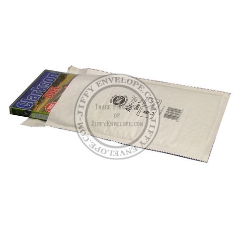 Jiffy Airkraft JL-1 White Bubble Lined Mailer ​Internal Size 180mm x 245mm​