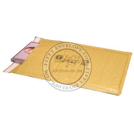 Jiffy Airkraft JL-GO-3 Gold Bubble Lined Mailer Internal Size 230mm x 325mm